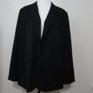 A New Day Blazer Black 18 Jacket Long Sleeves